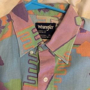 Men's Vintage Wrangler Button up